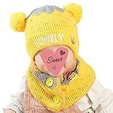 Die besten Freunde Beanie Babies - Kofun Strickmütze Schal, Kleinkind Kleinkind Baby Winter Strickmütze Bewertungen