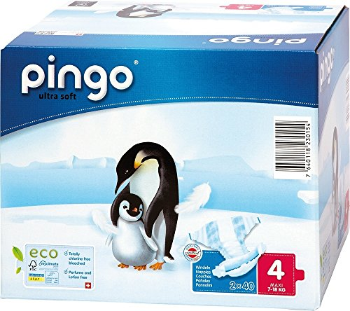 Preisvergleich Produktbild Couches PINGO Taille 4 7/18kg (160 couches)