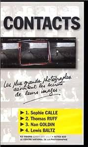 Cassette contact 4. Sophie Calle, Thomas Ruff, Nan Goldin, Lewis Baltz [VHS]