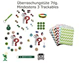 7 Piece Überraschungstüre Grabbag Reduced – Geocoin Trackable Travel Bug Sticker Grounds Peak Patch Gift Sale Reduced