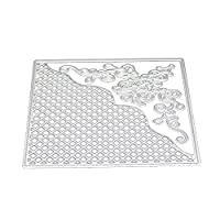 squarex Mtal Cutting Dies Stencil DIY Scrapbooking Embossing Album Paper Card Lovely Craft Gift (F)