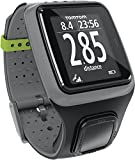 TomTom Runner Running Sports GPS Fitness Watch Virtual Training Partner with HRM Heart Rate Monitor Bundle - Dark Grey (Certified Refurbished)