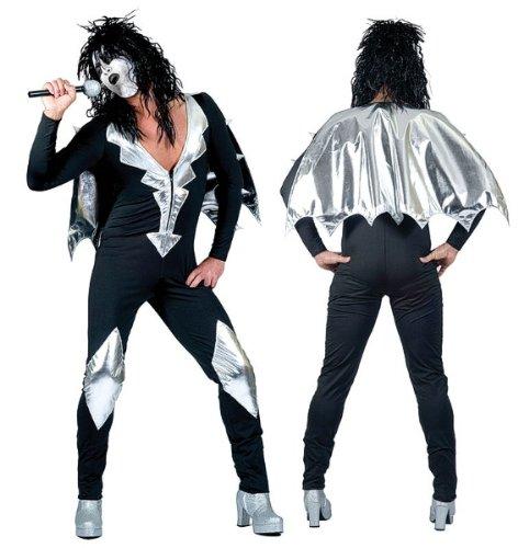 Glamorous - Disfraz de rockero para hombre, talla UK 38 (AC124A)