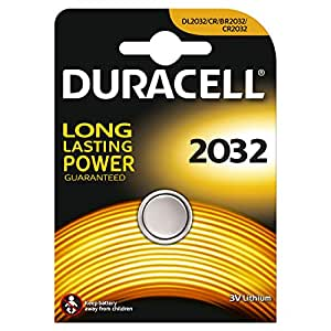 Duracell DUR033917 électrique 2032 1er (lithium) en 10-pack