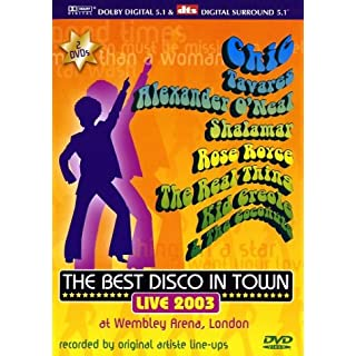 Various Artists - The Best Disco in Town (2 DVDs)