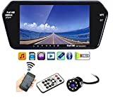 #9: AutoStark Full HD LED Reverse Parking Screen with Bluetooth MP5 SD Card USB + 8 LED Parking Camera Maruti Suzuki WagonR
