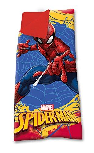 Kids Licensing Sac de Couchage - Spiderman - Facilement Transportable, MV15279