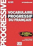 """Afficher """"Vocabulaire progressif du français, A2-B1, intermédiaire"""""""