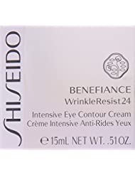 Shiseido Benefiance Wrinkle Resist24 Intensive Eye Contour Cream for Unisex, 0.51 Ounce by Shiseido