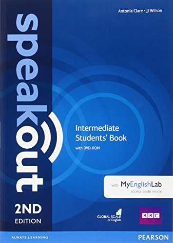 Speakout Intermediate 2nd Edition Students' Book with DVD-ROM and MyEnglishLab Access Code Pack