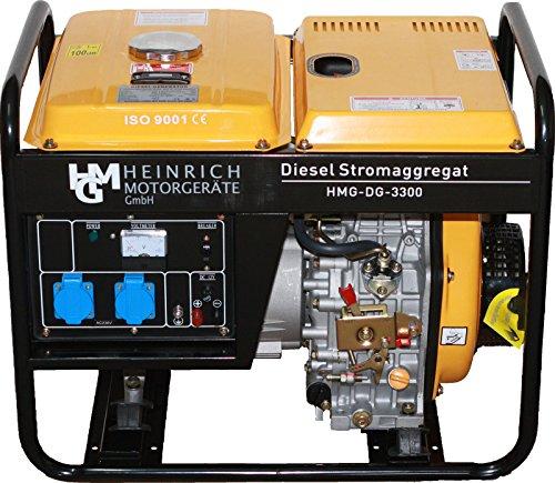 Diesel Stromaggregat HMG-DG-3300 Diesel - Diesel-generatoren