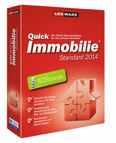 Lexware QuickImmobilie Standard (Version 14.00)