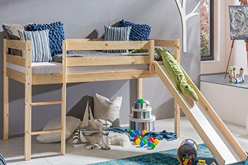 Etagenbett Mit Rutsche Wickey Crazy Circus : Preiswert kinderbett hochbett mit rutsche leiter