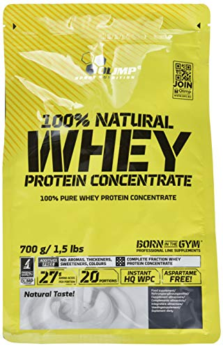 Olimp Natural Whey Protein Concentrate Neutral, 1er Pack (1 X 700 G)