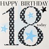 Claire Giles Geburtstagskarte für Jungen von 18Jahre