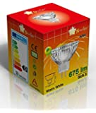 Starlight x10 50w MR16 Dimmable Dicrhoic Reflector Halogen Light Bulbs Low Voltage 12v GU5.3