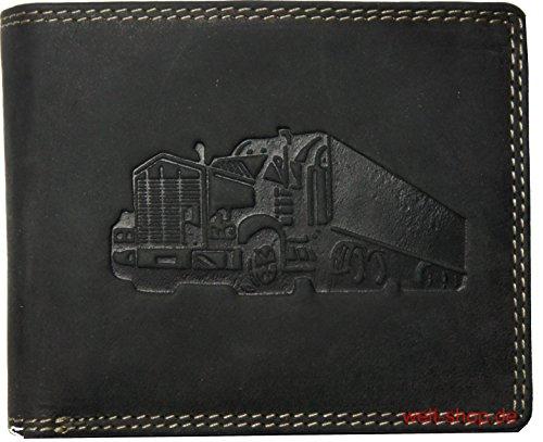 Hochwertige Geldbörse Geldbeutel Portemonnaie Büffel Wild Leder Truck - Cargo-zubehör Truck