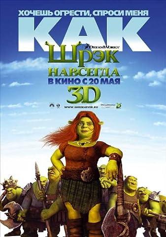 Shrek Forever After Affiche du film Poster Movie Shrek à jamais après que (27 x 40 In - 69cm x 102cm) Russian Style B