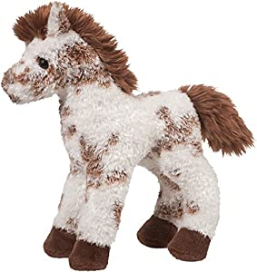Cuddle Toys 176023cm Largo Stoney marrón y Blanco Caballo Appaloosa de Peluche