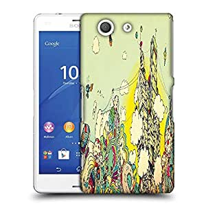 Snoogg Colorful City Drawing Designer Protective Phone Back Case Cover For SONY XPERIA Z3 COMPACT