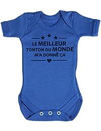 TRS - Le Meilleure Tonton Du Monde.. Body bébé 100% Coton