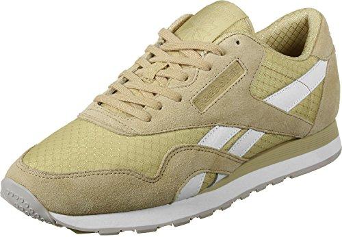 Reebok - Cl Nylon Rs, Chaussures De Sport Beiges Pour Hommes