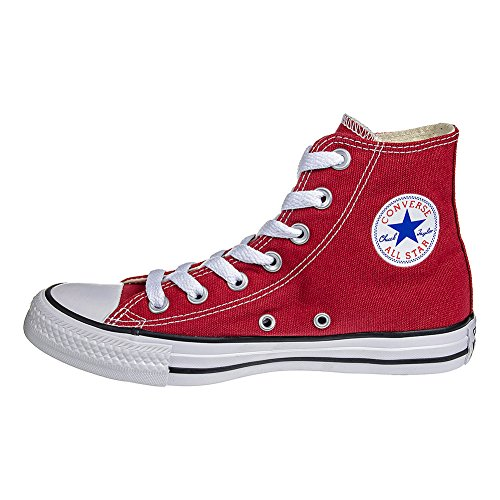 Converse Unisex-Erwachsene All Star Hi Canvas Seasonal Kurzschaft Stiefel Rot