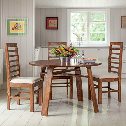 LifeEstyle LE-500042_A Four Seater Dining Table Set (Brown)