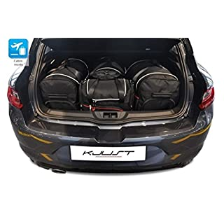 Kjust Carbags MASSGESCHNIEDERTE Reise AUTOTASCHEN FÃœR Renault Megane Hatchback IV, 2016- CAR FIT Bags