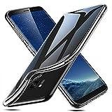 ESR Coque pour Samsung Galaxy S8, Bumper Housse Etui de Protection Transparent en Silicone TPU Souple [Ultra Fin] [Ultra Léger] pour Samsung Galaxy S8 (2017) 5,8 Pouces (Série Jelly, Transparent)