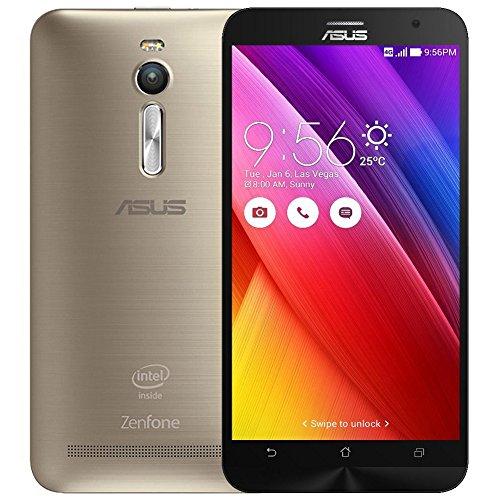 ML Dual-SIM Smartphone (5,5 Zoll Full HD Intel Atom Z3580, 2.3GHz 4GB Arbeitsspeicher, 64 GB Speicher) - Gold (Intel Asus Zenfone)
