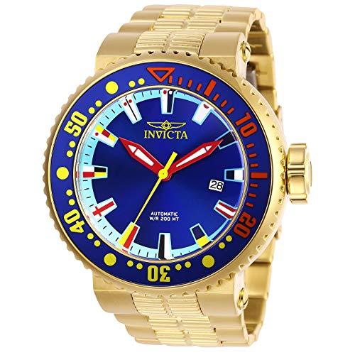 Invicta Pro Diver Reloj de Hombre automático Correa y Caja de Acero 27665