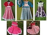 Individuelles Kleid zur Einschulung/Sommerkleid Gr. 116-152