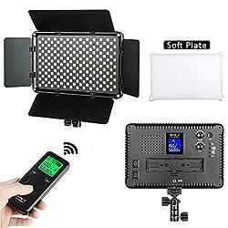 VILTROX VL-S192T Dimmbar LED Videoleuchte Video Licht Panel zweifarbig 3300k-5600k für Studio YouTube Porträt Fotografie 50W 4700LM CRI95 +