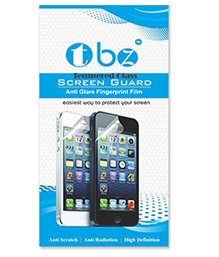 TBZ HD+ 9H Hardness Toughened Tempered Glass Screen Protector For Micrmax Canvas Q417 MEGA 4G