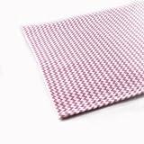 Jersey Stoff gemustert als Meterware |Muster: Zickzack rosa|50cm x 160cm|92% Baumwolle, 8% Elasthan|Mehrere Farben zur Auswahl|Jersey|1buy3