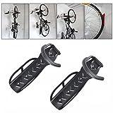 Shouldbuy Gancho de pared para colgar bicicleta Set de 2 soportes