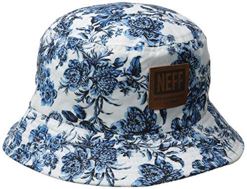 NEFF Prime Bucket Hat Casquette Mixte Adulte, Blanc, FR : (Taille Fabricant : U)
