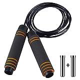 Nasharia Springseil Sport 3M Speed Rope Für Fitness, Ausdauer & Abnehmen. Profi Kugellager &...