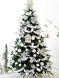 Gstrand Christmas Set, High-End Künstliche 5 Ft Weihnachtsbaumdekoration Inklusive 10 Meter, 100 Scheinwerfer Und Andere Dekorative Accessoires,6Ft