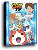 Yo-Kai Watch Mini Poster sur Châssis (Bois) - Key Art (50 x 40cm)