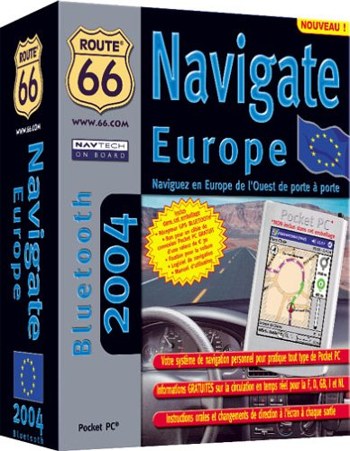 Route 66 Navigate Europe 2004 Bluetooth (pour Pocket PC)