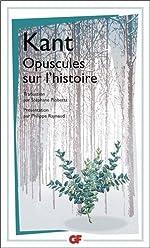 Opuscules sur l'histoire de Emmanuel Kant