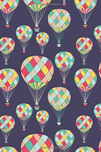 Hot Air Balloons: ToDo List Notebook Daily Tasks Journal, 6x9 Inch, 120 Pages (Notebook Hot Press)