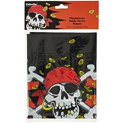 Mantel para fiestas temáticas de piratas.