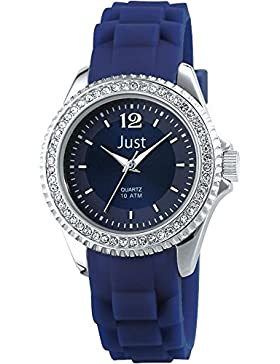Just Watches Damen-Armbanduhr XS Analog Quarz Kautschuk 48-S3858-DBL