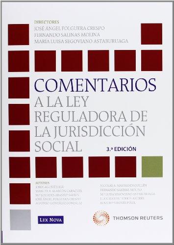 Comentarios a la Ley Reguladora de la Jurisdicción Social (Monografía)