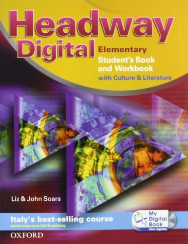 Headway digital. Elementary. Student's book-Workbook with key-My digital book. Con espansione online. Per le Scuole superiori. Con CD-ROM