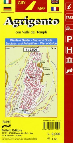Agrigento 1:2.500 (Piante di città. City map)