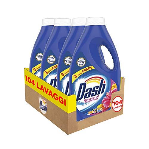 Dash detersivo liquido per bucato, 104 lavaggi